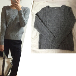 実際に先日「i2さん良いセーター着てるね!」って言われたんですが無印良品で3,490円で買える事を説明すると、大変驚かれていました。