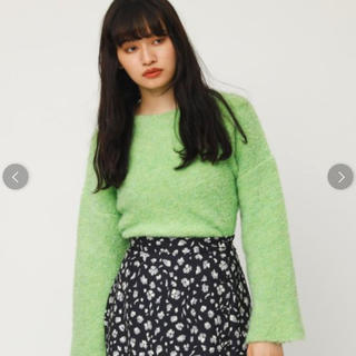 SLY - BOUCLE WIDE SLEEVE MG TOPS ニット トップス