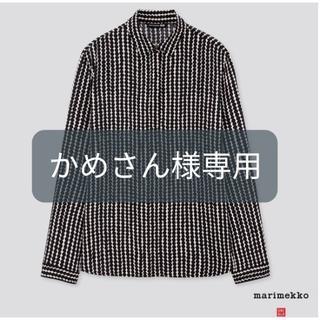 マリメッコ(marimekko)のユニクロ マリメッコ シャツ(シャツ/ブラウス(長袖/七分))