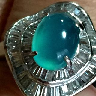 pt900 ブルーオパールリング(リング(指輪))