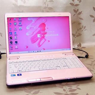 東芝 - 【水玉ピンク】 高速SSD  ブルーレイ搭載