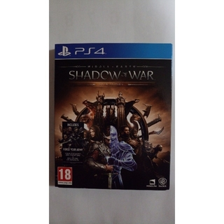 PS4 shadow of war(家庭用ゲームソフト)