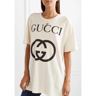 Gucci - GUCCI 18AW グッチ オーバーサイズ Tシャツ Sサイズ 良品