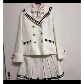 レピピアルマリオ(repipi armario)のお値下げしました!レピピアルマリオ 白 スーツ M(ドレス/フォーマル)