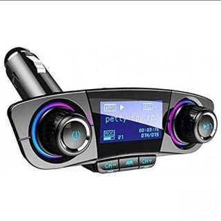 FMトランスミッター Bluetooth シガーソケット(カーオーディオ)