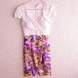 デイジーストア(dazzy store)の◆GOSSIPdazzy♡花柄切り替えドレス◆(ナイトドレス)