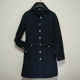 BURBERRY - BURBERRYスプリングコート日本製 濃紺