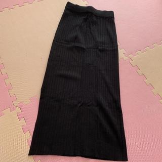 GRL - 新品 GRL リブ ロングスカート