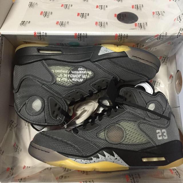 OFF-WHITE(オフホワイト)のエアジョーダン5 オフホワイト メンズの靴/シューズ(スニーカー)の商品写真