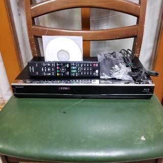 シャープ(SHARP)の完動美品!W録3D1TB!外付HDD可!スマホ対応!シャープBD-W1500(ブルーレイレコーダー)