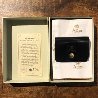 Alden - ALDEN オールデン シェルコードバン コインケース