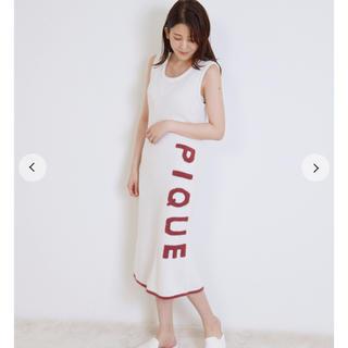 gelato pique - ジェラートピケ♡スムーズィー ロゴジャガードドレス
