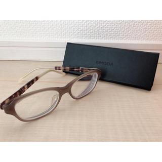 エモダ(EMODA)のEMODA メガネ ベッコウ柄 眼鏡ケース付き(サングラス/メガネ)