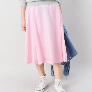 JOURNAL STANDARD - 未使用!relume☆サイドタックフレアスカート☆ピンク☆サイズ36