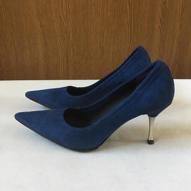 Sergio Rossi(セルジオロッシ)の美品 セルジオロッシ ソフトパンプス レディースの靴/シューズ(ハイヒール/パンプス)の商品写真