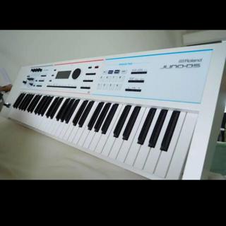 ローランド(Roland)のRoland JUNO-DS61鍵ホワイト 付属+ケース+キーボードマガジン付き(キーボード/シンセサイザー)