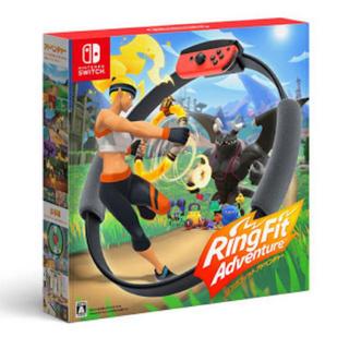 ニンテンドースイッチ(Nintendo Switch)のリングフィットアドベンチャー Nintendo switch(家庭用ゲーム機本体)
