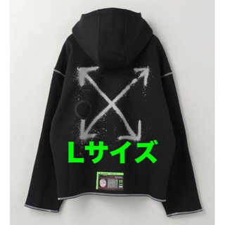 OFF-WHITE - NIKE x OFF-WHITE HOODIE L