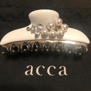 acca - acca ヘアクリップ(中) 【限定】スノーベリー / アッカ