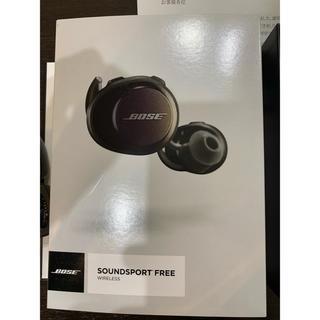 ボーズ(BOSE)のBose SoundSport Free wireless ワイヤレスイヤホン (ヘッドフォン/イヤフォン)