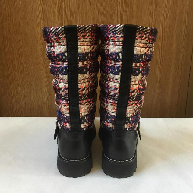 CHANEL(シャネル)のシャネル エンジニアブーツ 黒 レディースの靴/シューズ(ブーツ)の商品写真