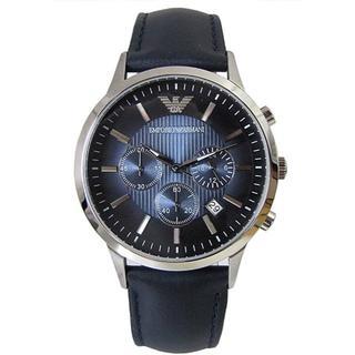 エンポリオアルマーニ(Emporio Armani)のエンポリオ アルマーニ ARMANI クロノクオーツ メンズ 腕時計 e306(レザーベルト)