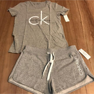 Calvin Klein - カルバンクライン ルームウェア M ショートパンツ Tシャツ