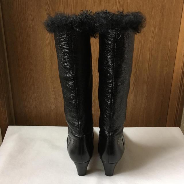 CHANEL(シャネル)のシャネル ファーブーツ レディースの靴/シューズ(ブーツ)の商品写真