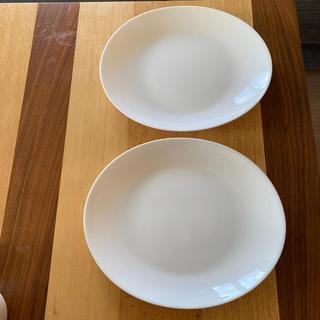 ヤマザキセイパン(山崎製パン)の白いお皿 山崎パン セット 白皿 ペア プレート(食器)