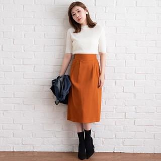 夢展望 - ツイルタックナロータイトスカート