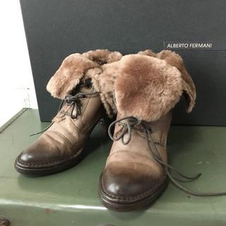 バーニーズニューヨーク(BARNEYS NEW YORK)のイタリア製 ALBERTO FERMANI ブーツ USED(ブーツ)