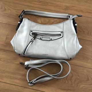 ビバユー(VIVAYOU)の美品 ビバユー シルバー ショルダーバッグ ハンドバッグ(ショルダーバッグ)