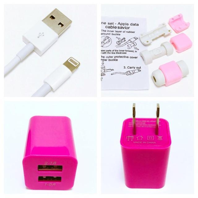 iPhone ケーブル 充電器 スマホ/家電/カメラのスマホアクセサリー(iPhoneケース)の商品写真