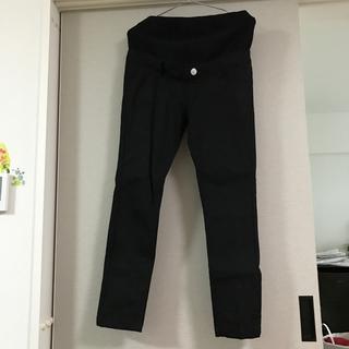 マタニティ パンツ ブラック M