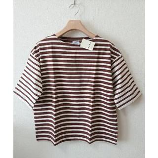 coen - 新品 コーエン ボーダー クルーネック Tシャツ カットソー 半袖 トップス