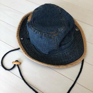 エムピーエス(MPS)の帽子 ハット デニム  子ども(帽子)