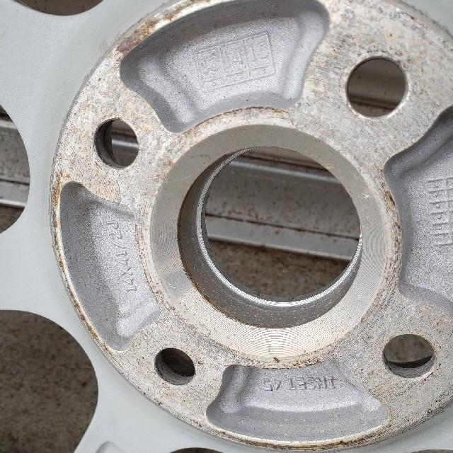 BRIDGESTONE(ブリヂストン)のブリジストンVRX2スタッドレス155/65/14 自動車/バイクの自動車(タイヤ・ホイールセット)の商品写真