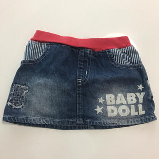 ベビードール(BABYDOLL)のBABY DOLL デニムスカート100㌢(スカート)