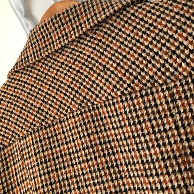 Grimoire(グリモワール)の古着 レトロ ロングコート  レディースのジャケット/アウター(ロングコート)の商品写真