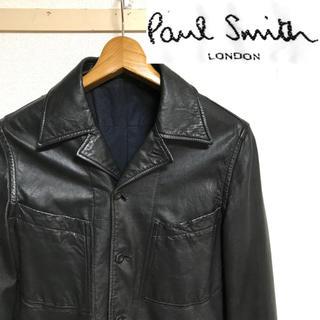 Paul Smith - 希少美品!ポールスミス・ロンドン ラムレザー(羊革) シャツジャケット
