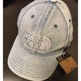 THE NORTH FACE - ノースフェイス ロゴ キャップ ブリーチデニム