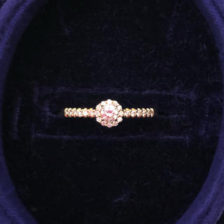 Vendome Aoyama - 美品 ヴァンドーム青山 k18 YG ダイヤモンド リング