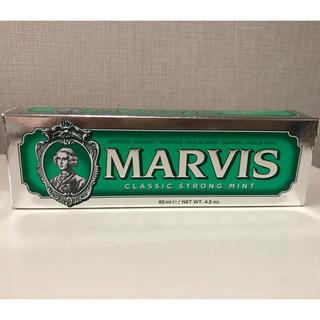 マービス(MARVIS)のMARVIS CLASSIC STRONG MINT 緑 85ml(歯磨き粉)