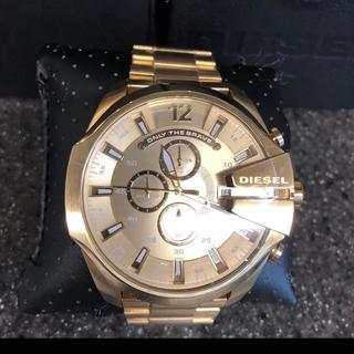 ディーゼル(DIESEL)のディーゼル時計 ゴールド(腕時計(アナログ))