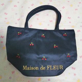 メゾンドフルール(Maison de FLEUR)のメゾンドフルール チェリー柄 バッグ(ハンドバッグ)