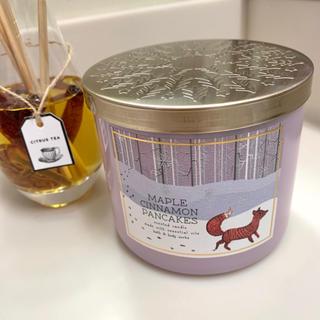 Bath & Body Works - 新品 バスアンドボディワークス Maple Cinnamon キャンドル