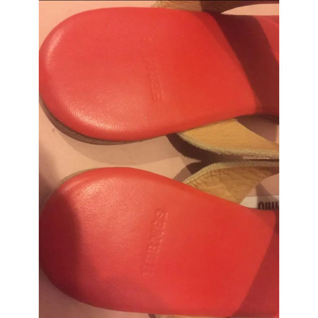 Hermes(エルメス)のエルメス サンダル 希少 サイズ38 レディースの靴/シューズ(サンダル)の商品写真