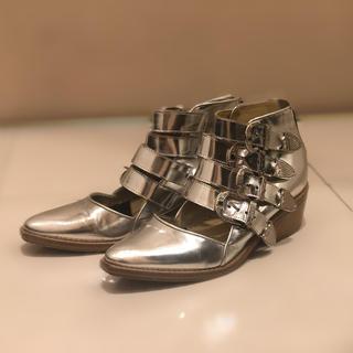 トーガ(TOGA)のTOGA ブーツ シルバー(ブーツ)