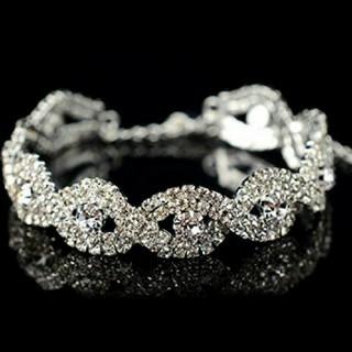 SWAROVSKI - f59❇️ビータ❇️スワロフスキー クリスタル ダイヤモンドCZ ブレスレット