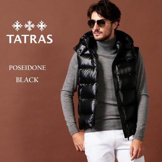 タトラス(TATRAS)のタトラス TATRAS ダウンベスト POSEIDONE ブラック M 2(ダウンベスト)